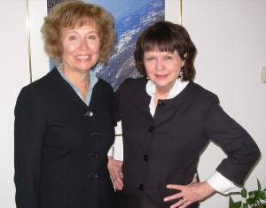 Becky Breed & Lucy Adkins, authors of Writing in Community